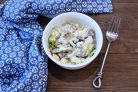 Салат из гусиной печени