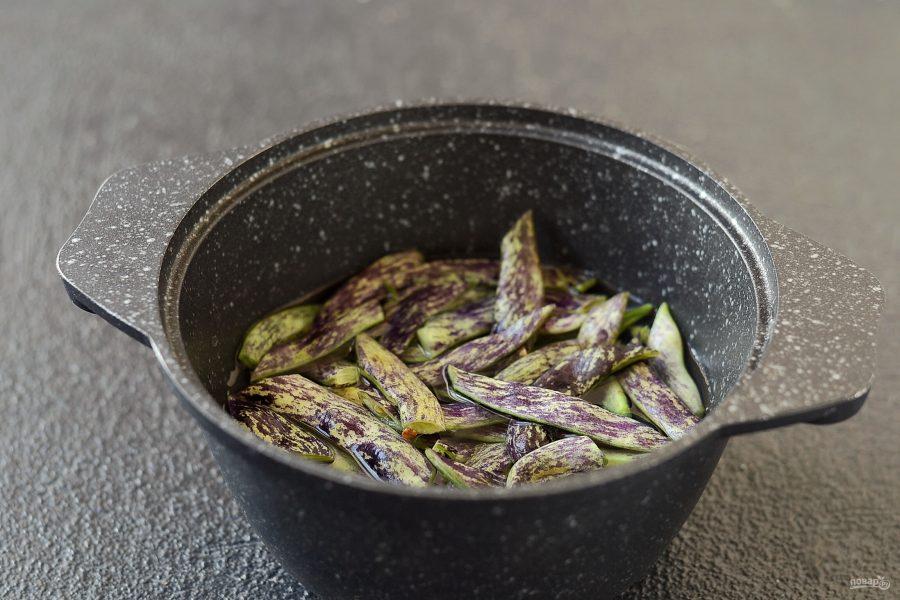 Салат со свеклой и стручковой фасолью