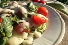 Кабачки с помидорами и чесноком
