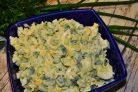 Овощной салат с яблоками