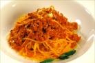 Спагетти с мясным фаршем