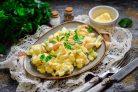 Салат с кальмарами и фасолью