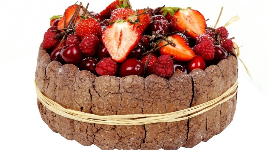 """Торт-десерт """"Дары лета"""""""