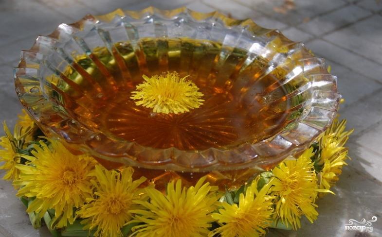 Просмотр фотографий блюда Варенье из одуванчиков