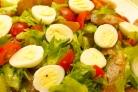 Салат с карпаччо из курицы
