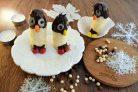 Пингвины из бананов
