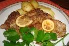 Картофель со свининой в духовке