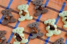 Печенье Мишки с миндалем