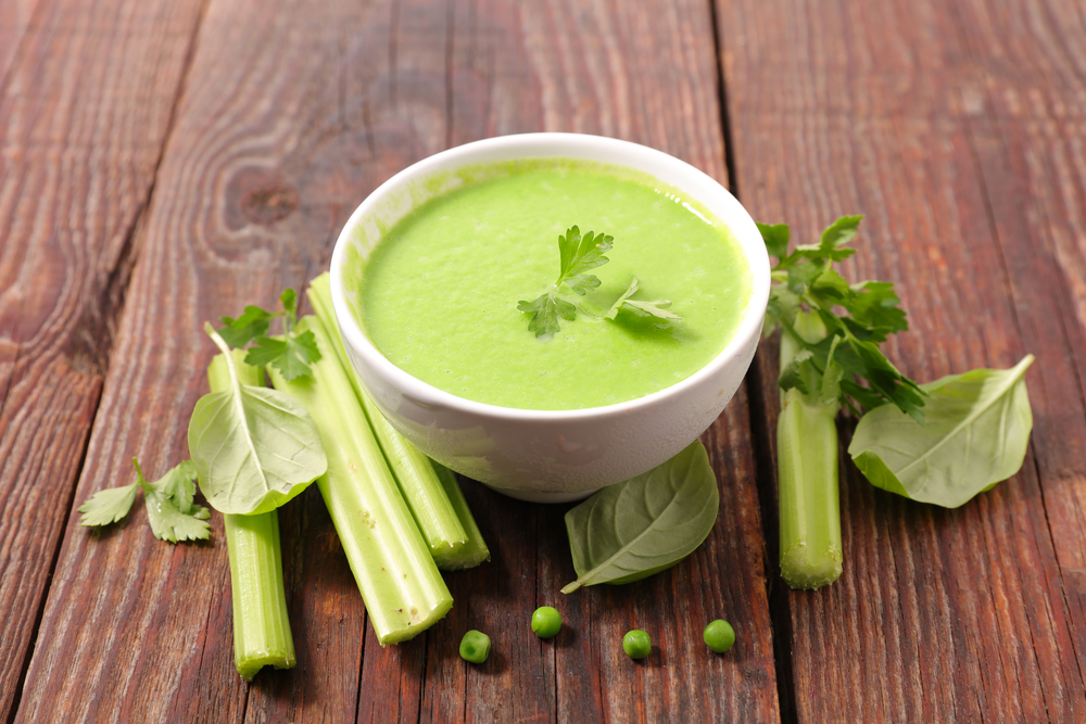 Зеленый суп-пюре
