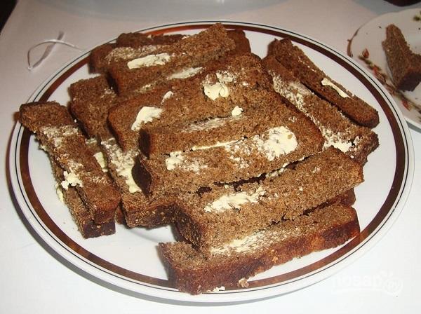 что приготовить из черного хлеба рецепты с фото