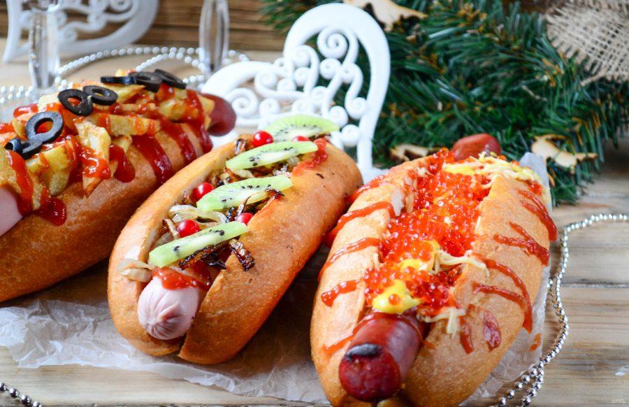 Новогодние хот-доги