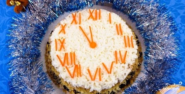 Субботний рецепт.  10-ка самых популярных блюд к Новому Году.