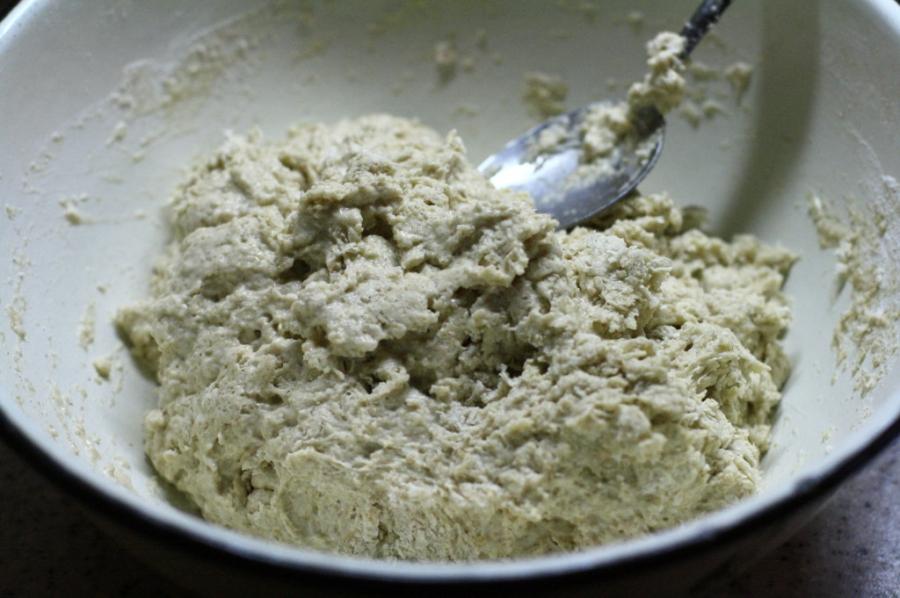 Бездрожжевой хлеб на кефире - фото шаг 1