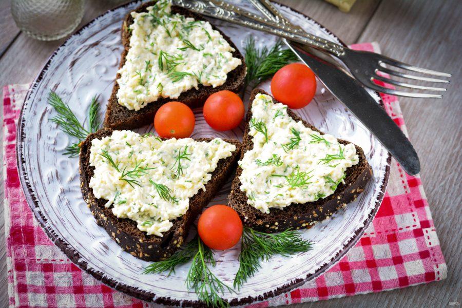 Закуска с плавленым сыром
