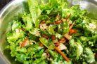 Стручковый горох с овощами