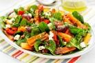 Салат с жареной морковью