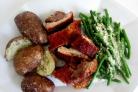Мясо под соусом в духовке