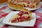 Цветаевский пирог с замороженными ягодами