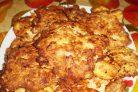 Свинина (отбивная, жаренная на сковороде в кляре)