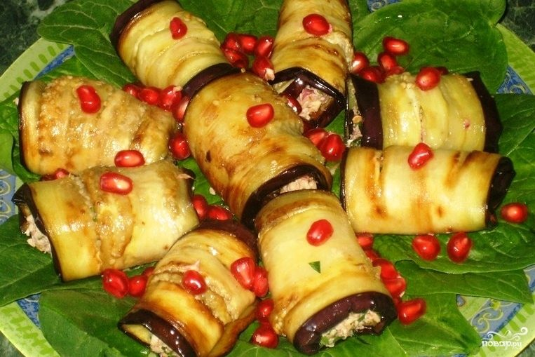 рецепты из баклажана