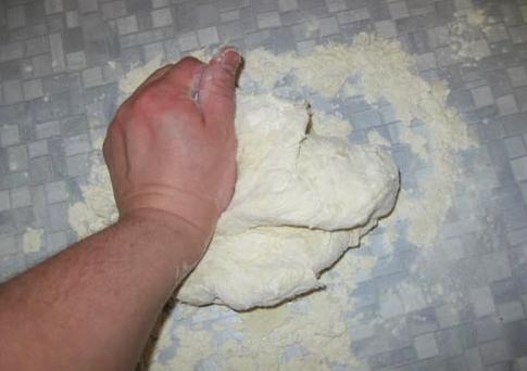 Тесто для мантов рецепт классический