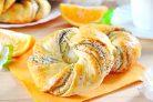 Апельсиновые булочки с маком