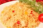 Курица с рисом в казане