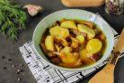 Тушеная картошка с опятами