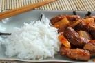 Свинина по-китайски с ананасами