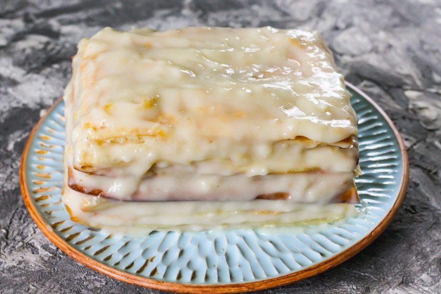 слоеное тесто для наполеона рецепт с фото