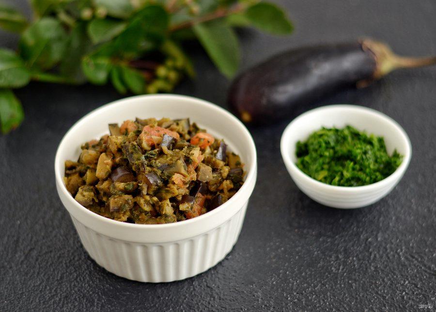 Овощная закуска со шпинатом