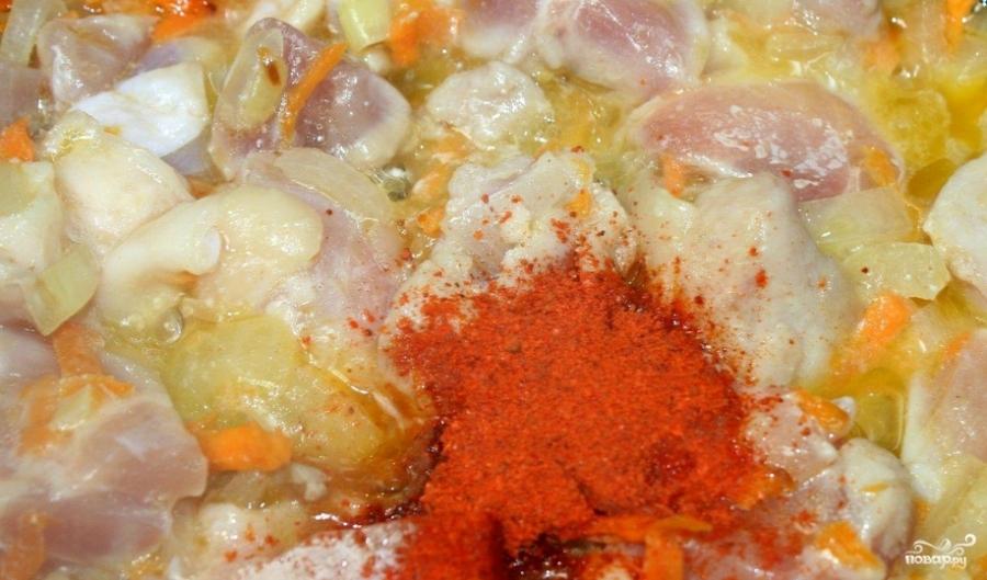 Густой суп со свининой