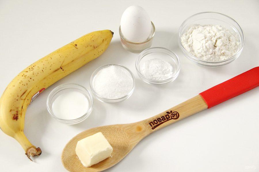 Банановый пудинг в микроволновке