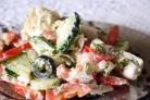 Греческий салат с капустой
