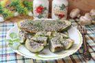 Жареные огурцы с грибами