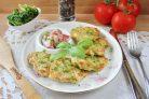Куриные оладьи с брокколи