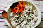 Салат с вареной грудкой