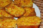 Горячие овощные бутерброды