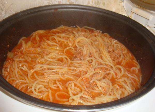рецепт макароны с пастой в мультиварке