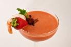 Томатно-клубничный гаспачо (холодный суп)