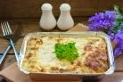 Макароны, фаршированные фаршем и сыром, в духовке