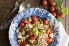 Салат из тунца консервированного с кукурузой