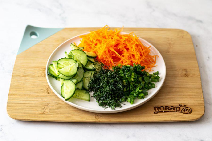 Салат без мяса