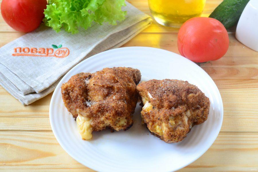 Кармашки из куриного филе с сыром