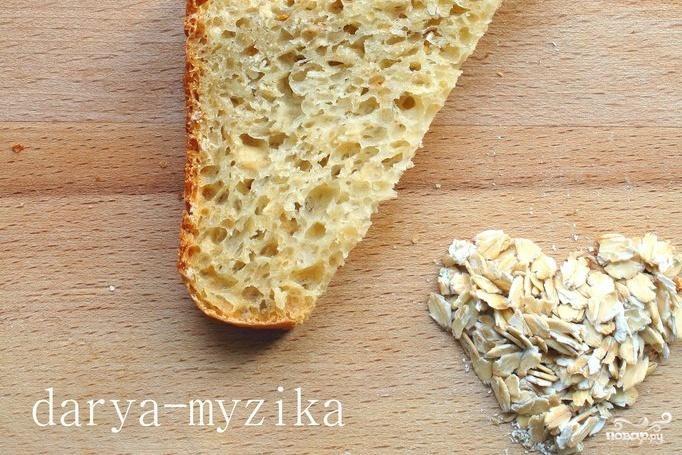 Овсяно-медовый хлеб с семенами укропа и кориандром