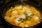 """Грибной суп в мультиварке """"Редмонд"""""""