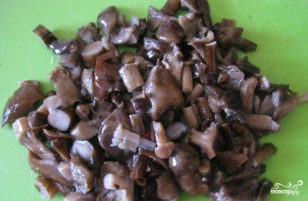 Винегрет с грибами