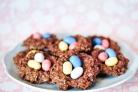 Шоколадное печенье Гнезда