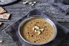 Постный грибной суп-пюре