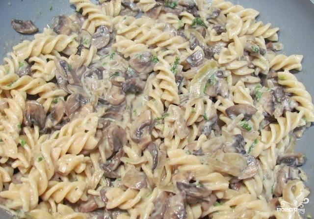 пенне с грибами рецепт